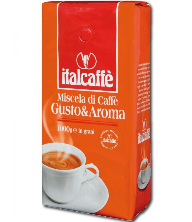 Italcaffé Gusto & Aroma – Whole Beans (12 Kg)