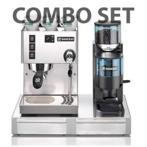 Combo Set Rancilio Silvia + Rocky + Base