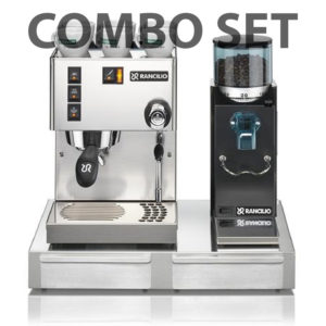 Combo Set Rancilio Silvia + Rocky SD + Base